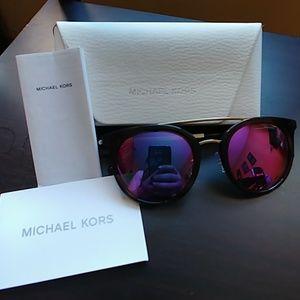Michael Kors mirrored sunglasses